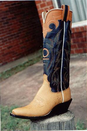 Tex Robin Custom Bootmaker - Inlay/Exotic Boot Gallery